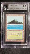 MTG Graded Magic Card: Collectors Edition: BGS 8.5: Tropical Island Dual Land