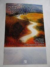 Spectrum Road Poster Jack Bruce/ John Medeski/ V Reid Promotional 11X17 New