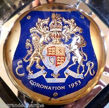 1953 QUEEN ELIZABETH CORONATION PAPERWEIGHT