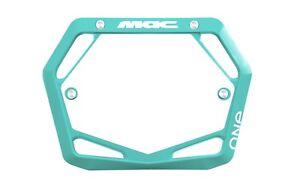 Mac One BMX Number Plate Mini/Cruiser Teal