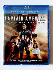 1st Original Marvel Captain America The First Avenger Blu-ray DVD & Digital Copy