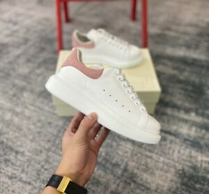 Alexander McQueen Women's Classic white Sneakers Shoes US7/EUR38