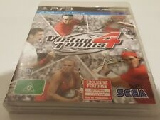 Virtua tennis 4 ps3 game good condition playstation australia