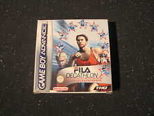 GAME BOY ADVANCE FILA DECATHLON ( TIPO OLIMPIADI ) GIOCO NINTENDO