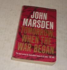 JOHN MARSDEN -TOMORROW, WHEN THE WAR BEGAN- THE TOMORROW SERIES-PB