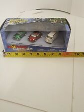2003 Johnny Lightning Holiday Classic Ornament Volkswagon 3 Pack Set NIB