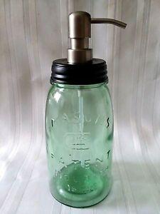 MASON'S PATENT 1858 Stainless Steel SOAP Dispenser QUART Antique Reproduction