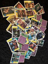 Teenage Mutant Ninja Turtles Movie Card lot 1990