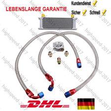 Universal Nachrüstsatz Kit Ölkühler 13 Reihen AN8 +Anschluss-Set +Thermostat NEU
