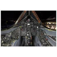 Poster of a SR-71 Aircraft Cockpit / Flight deck 11x17 inches
