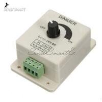 Adjustable 12V 8A PIR Sensor LED Strip Light Switch Dimmer Brightness Controller