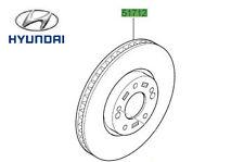 Genuine Hyundai i30 Estate TWO Front Brake Discs - 51712A6000