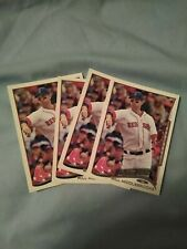 2014 Topps #136 Will Middlebrooks Future Stars Boston Red Sox 4 Card Lot