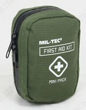 Mini First Aid Kit - Emergency Small Bag Box Walking Hiking Car Travel Medical