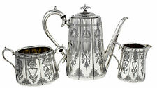1850-1899 Antique Silver Tea/Coffee Pots/Sets