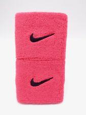 "Nike Swoosh Wristbands Siren Red/Port Wine 3"" Men's Women's"