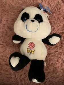 "NWT Care Bears 12"" Carlton Cards Perfect Panda"