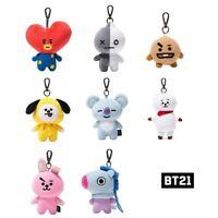 BT21 Official Authentic Goods Bag Charm Doll  BTS KPOP