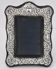 "Vtg Sterling Silver Photo Frame Carrs of Sheffield Hallmarked 6� x 4"" 1985"