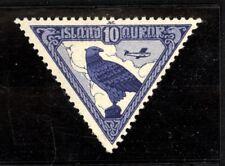 Iceland Scott C3 Air Triangle Mint Lightly Hinged jp