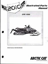 2010 ARCTIC CAT SNOWMOBILE CFR 1000 PARTS MANUAL P/N 2258-649  (744)