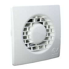 """Vortice 11127 MF100/4"""" T Extractor Fan with Timer TIPO M 100 Punto Filo"""
