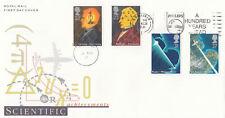 (04316) GB FDC Scientific Achievement Philips 100 Years Ahead slogan 5 Mar 1991