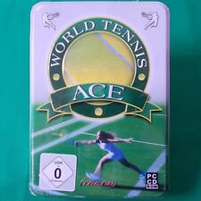 Pc-DVD rom ► world tennis Ace ◄ NEUF & OVP | steelbox