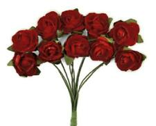 Kaisercraft Paper Blooms Mini Flowers Fire Red Blood Deep Rich Nini's Things
