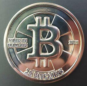 Casascius 25BTC Bitcoin - Blank/Unfunded (**See Description**)