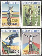 San Marino 1982 Sports/Games/Cycling/Bike/Volleyball/Skating/Athletics 4v n43501