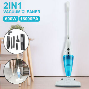 Upright 2 in1 Stick Powerful Vacuum Cleaner 1000W Corded Bagless Handheld UK
