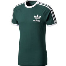 adidas T-shirt California Vintage Casual Style BQ7559 Forest Green