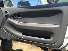 1992-1995 Honda Civic Ex Si Coupe Hatchback Leather Door Panel Inserts OEM EG EJ
