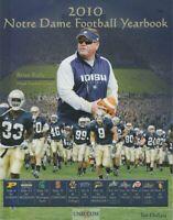 2010 NOTRE DAME FIGHTING IRISH NCAA Football Yearbook COACH BRIAN KELLY