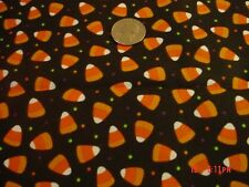 I Spy/ Candy Jar Quilt  Fabric CANDY CORN WITH DOT  COTTON QUILT   6 x 9 Inch