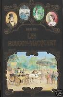 Livre les Rougon-Macquart Emile Zola éditions de Crémille 1993 book