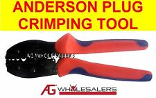 ANDERSON PLUG & NON INSULATED LUG CRIMPING TOOL TERMINAL CABLE CRIMP WIRE