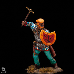 IN STOCK Persian Warrior with small shield Tin Painted Toy Soldier | Collectible
