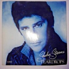 "Shakin Stevens - Teardrops / You Shake Me Up 1980s 7"" Vinyl Record 45RPM"