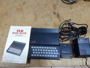 sinclair zx81 computer + Ram Pack