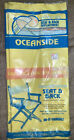 Oceanside Yellow Heavy Duty Canvas Replacement Cover Director's Seat