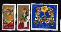 Briefmarken Polen  1693-95 gestempelt
