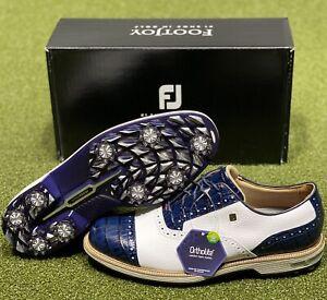 FootJoy DryJoys Premiere Series Tarlow Golf Shoes 53904 White 10 D NEW #85620