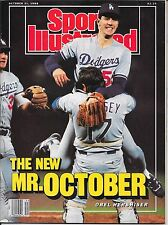 First OREL HERSHISER Sports Illustrated 1988 RICK DEMPSEY Dodgers NO LABEL