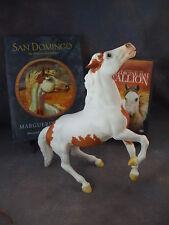 **SAN DOMINGO** Breyer horse model, w/ NEW Hardcover book + HTF DVD Movie!!!