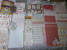 Craft cardmaking scrap book designer paper card,die cut, decoupage cup cakes