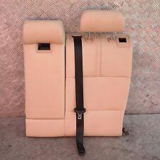 BMW X3 Série E83 beige intérieur Housse de siège dossier cuir arrière gauche