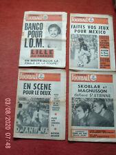 14 FRANCE FOOTBALL ANNEE 1970//1971  SKOBLAR MARSEILLE NIMES  EQUIPE DE FRANCE