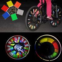 24x Bike Bicycle Cycling Spoke Wheel Reflector Reflective Strips Stocking Filler